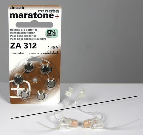Claratone Focus Ear Kit for left and right ear RS1 and RS2